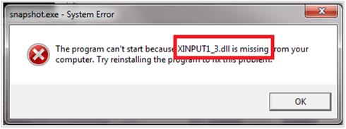 Neptune Utilities News - How to Fix XINPUT1_3 DLL Missing on Windows